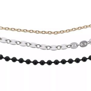 JUST IN!  NWT Steve Madden Set of 3 Chains